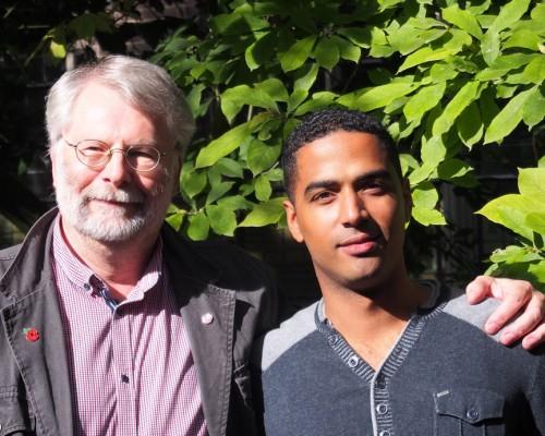 John van der Pauw (links) en Jerzy Soetekauw (rechts) - foto door PvdA.