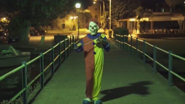 Foto: impressiefoto, niet de clown die wordt gezocht.