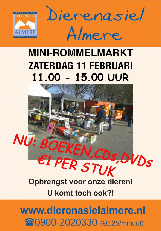 mini rommelmarkt almere poster